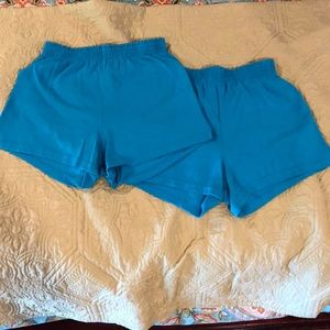 Sofia shorts Turquoise (comes in a pair)